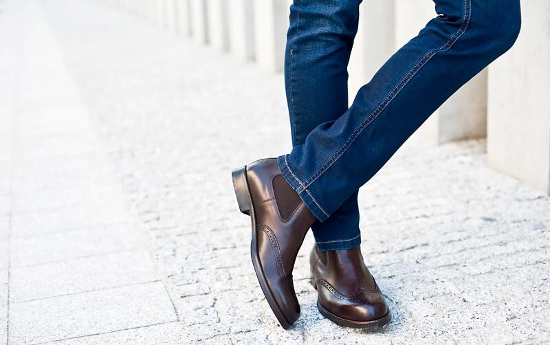 brazowe buty-meskie do jeansow